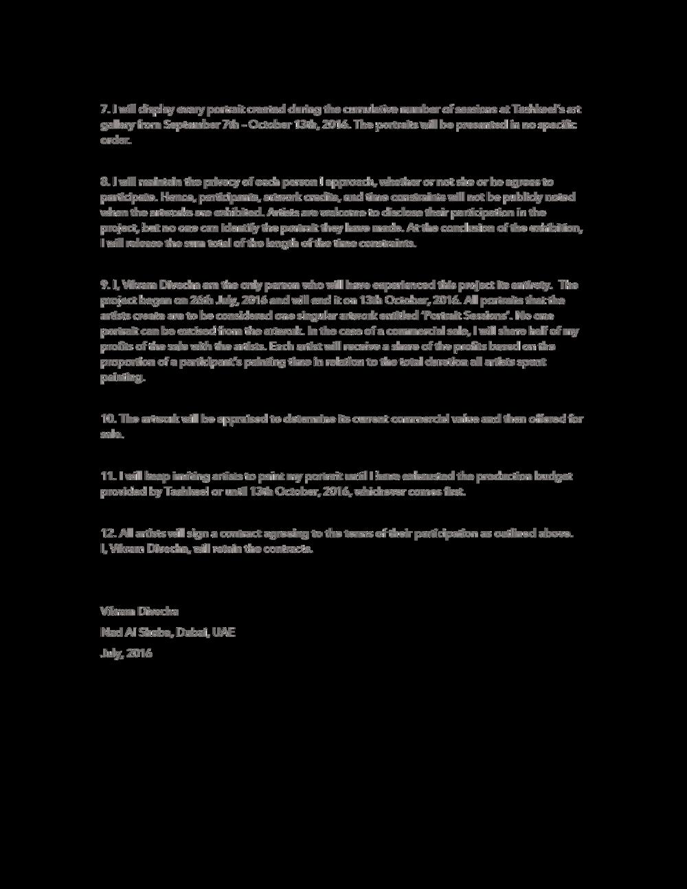 Artist Statement  Page 2