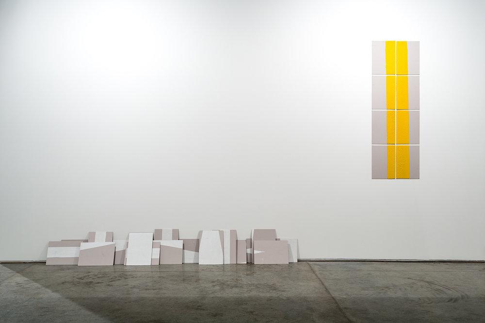 Installation view  Gallery Isabelle van den Eydne