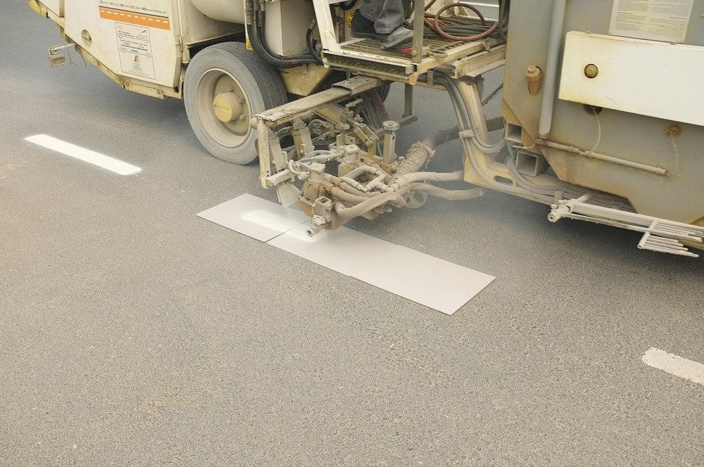 Machine marking  Al Barsha 1, St 25b, Dubai