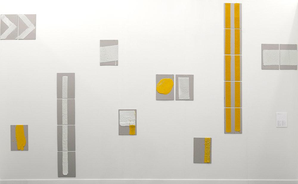 Installation view  Frieze New York, Gallery Isabelle van den Eydne