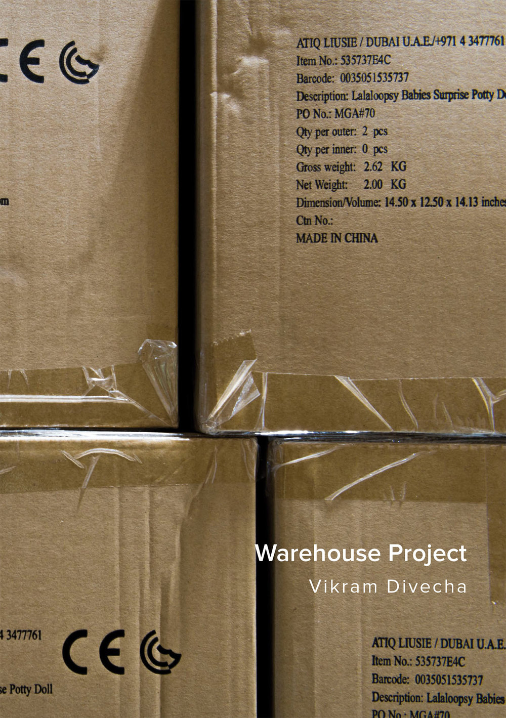 2017   Warehouse Project   Edited by Tairone Bastien and Vikram Divecha  Commissioned by Alserkal Avenue
