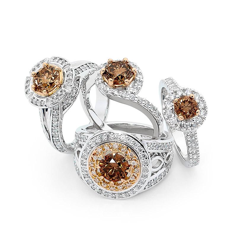 Choc Diamond Rings