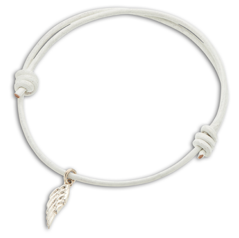Palas Wing Leather Bracelet - $21.75