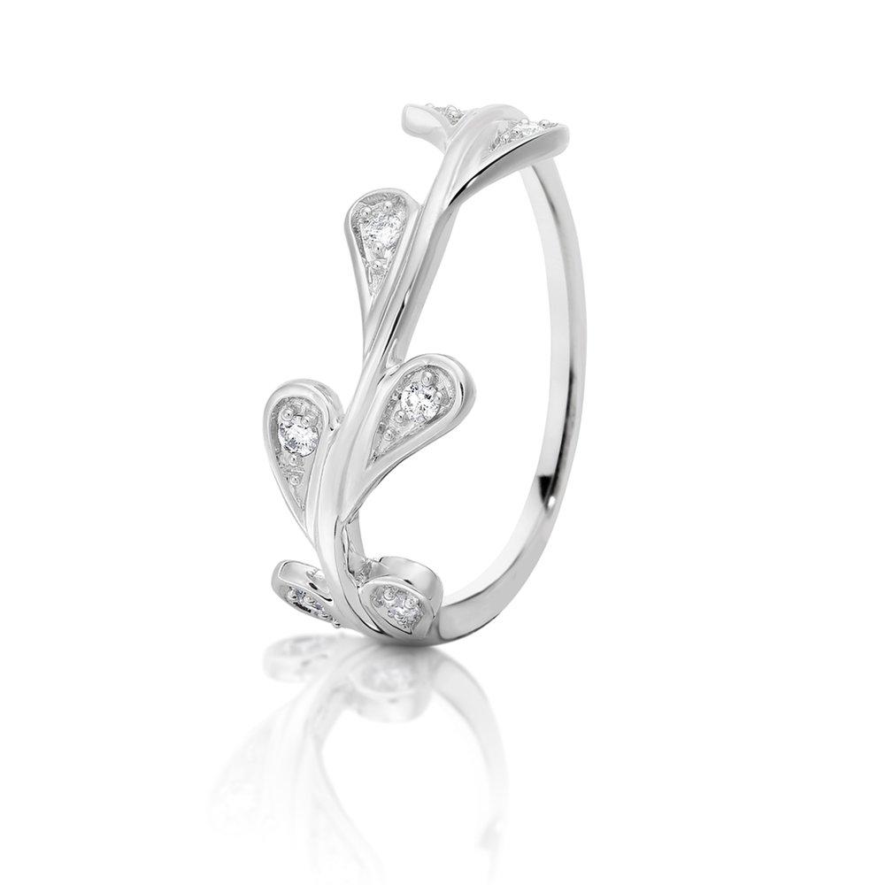 Dreamtime White Vine Ring - $599