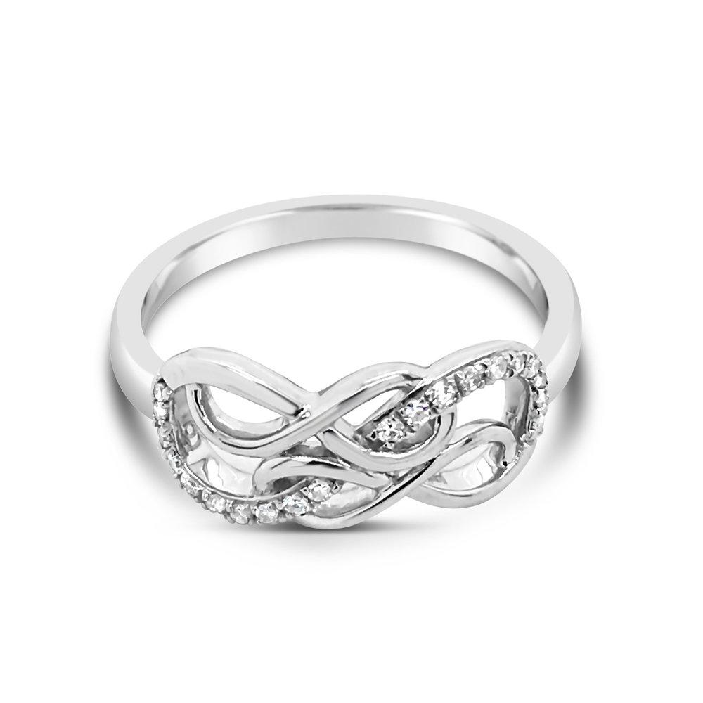 Triple Infinity Ring - $549