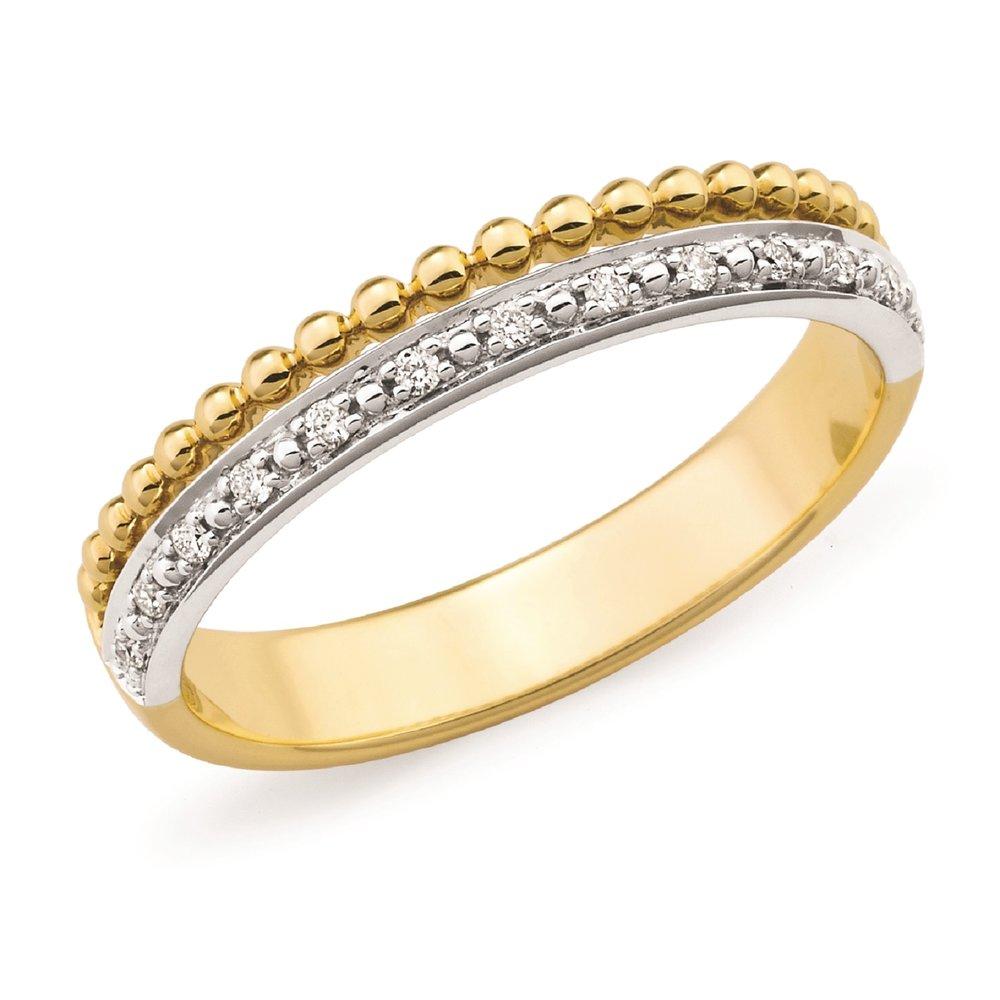 2 Band Diamond Ring - $399