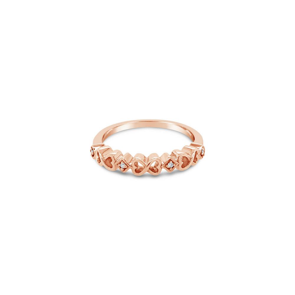 Infinity Heart Ring - $399