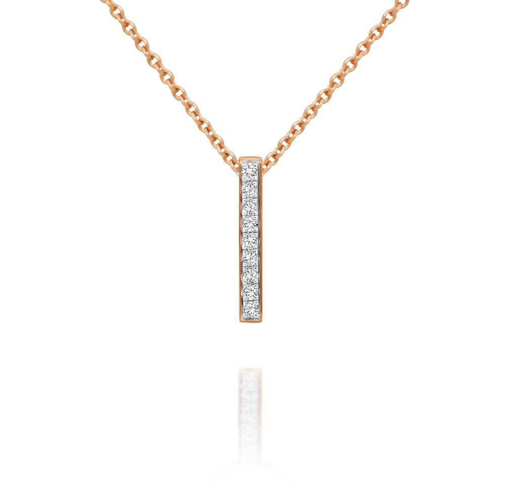 Diamond Bar Pendant - $475
