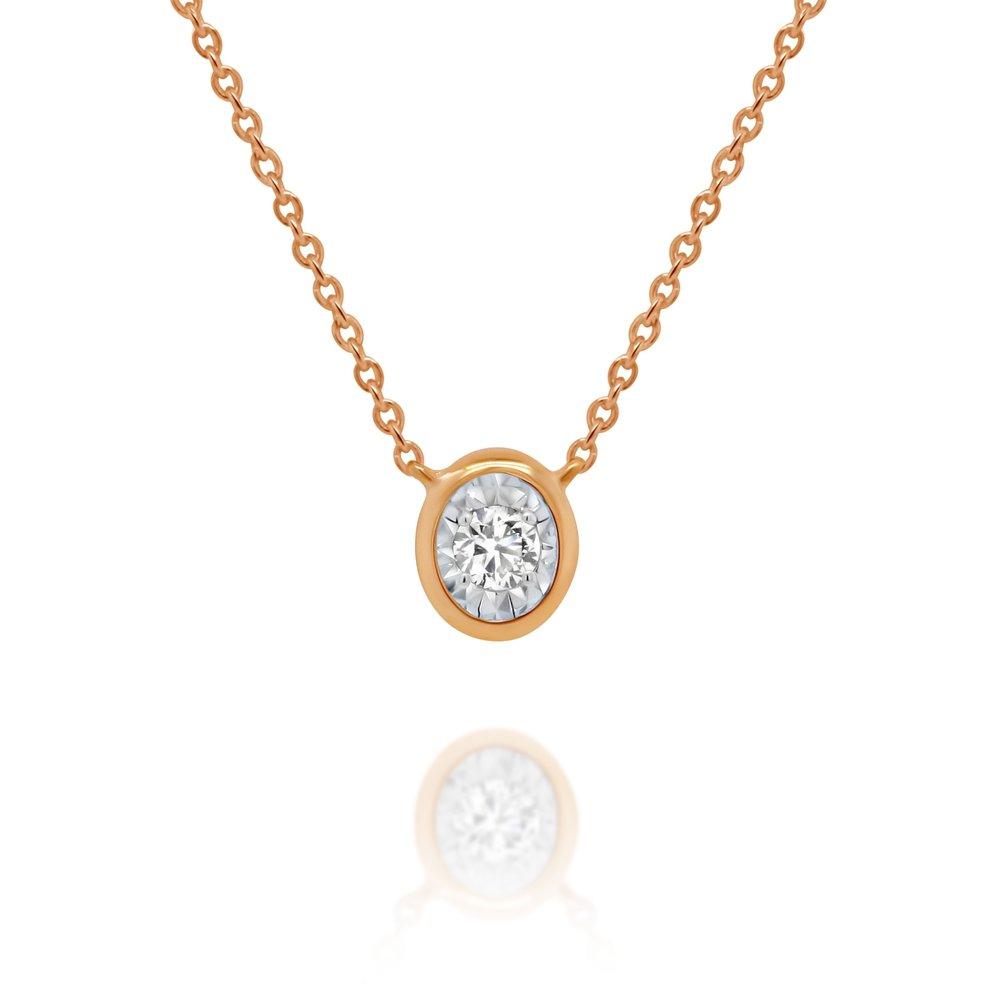 Diamond Solitaire Necklace - $499
