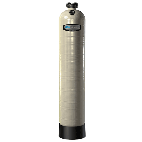 Neutralizer - Kinetico's single-tank Neutralizer balances the pH of water to eliminate a metallic taste or prevent damage to plumbing caused by acidic water.
