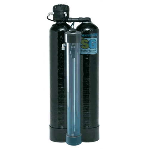 Sulfur Guard™ Backwashing Filter - Kinetico's Sulfur Guard™ Backwashing Filter is an effective and easy solution for removing hydrogen sulfide (aka, sulfur) from water.
