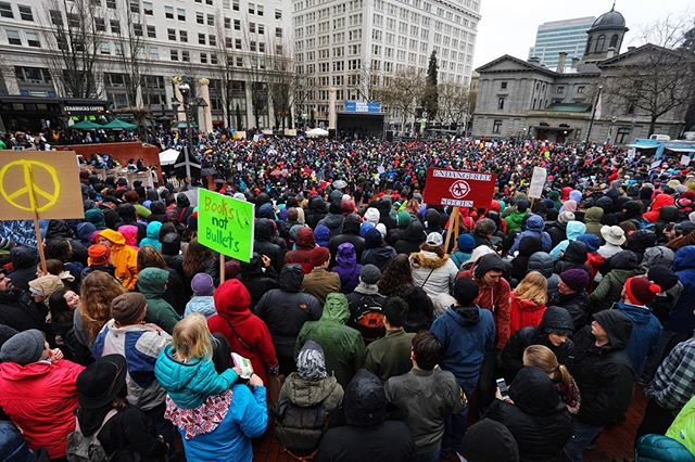 March For Our Lives | Portland  #marchforourlives