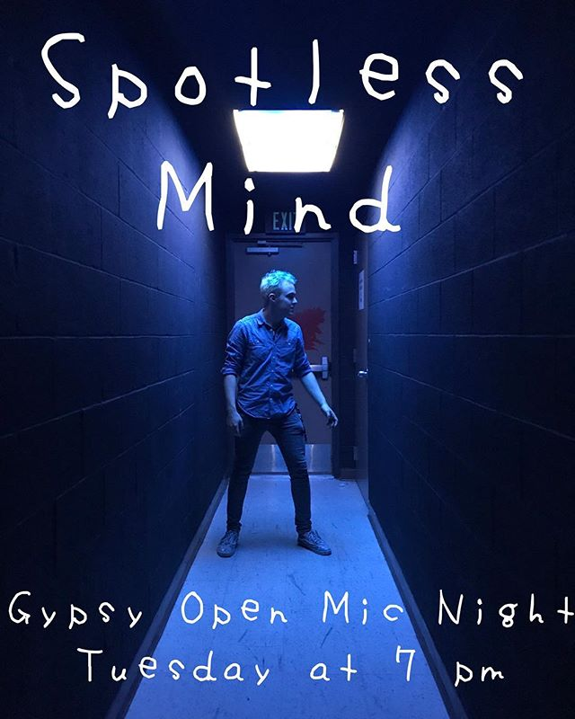 Catch us this Tuesday at Gypsy's open mic night at 7pm!!! It'll be fun