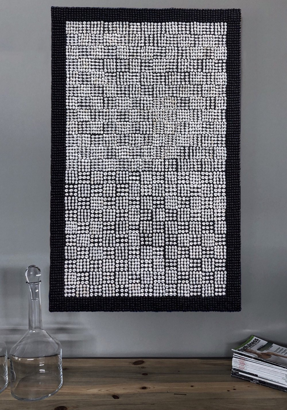 """""""WOVEN"""" installed"""