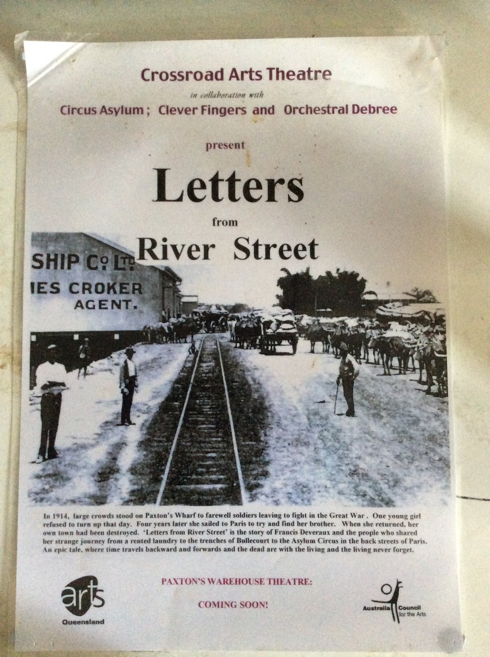 Letters from River Street 2001