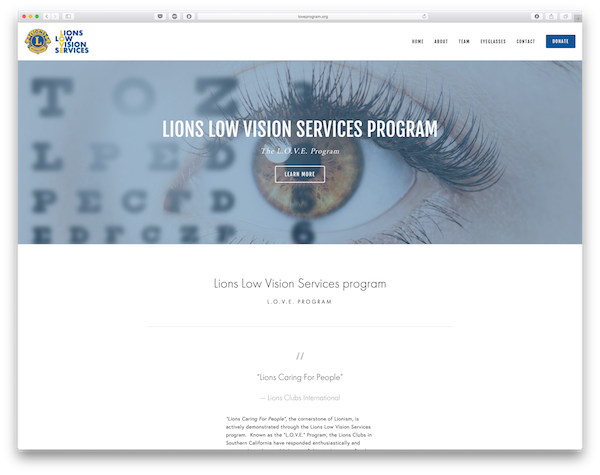 Lions Low Vision Services Program, Inc.
