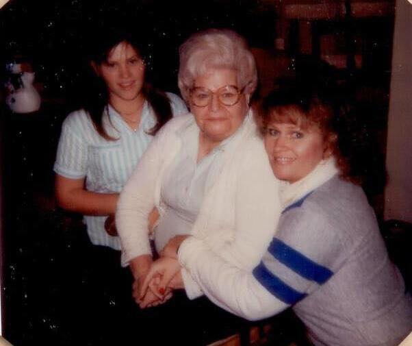 We want to say a special thank you to Tammy who submitted this week's recipe along with this photo of her, her mom, and her grandmother.