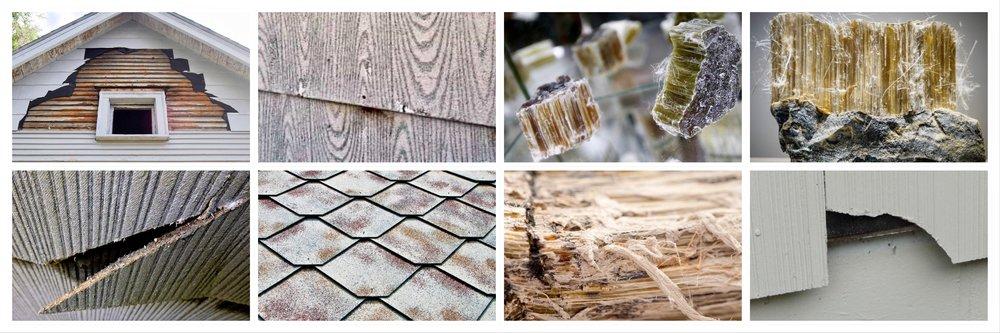 PACM Asbestos Collage