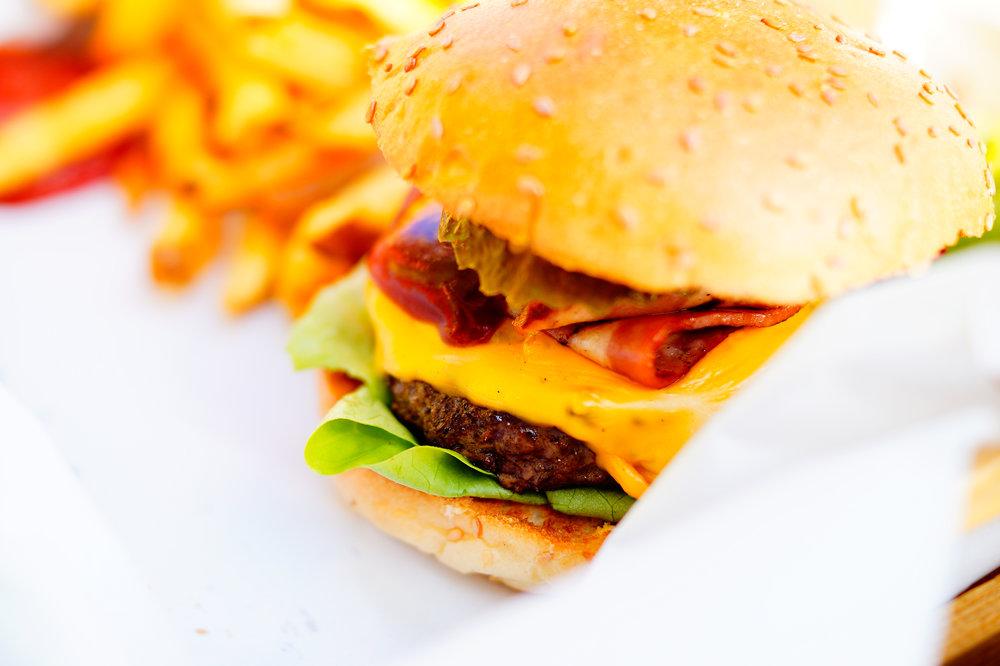 false advertising - burger