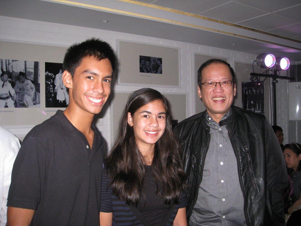 """With President Benigno """"Noynoy"""" Aquino III"""