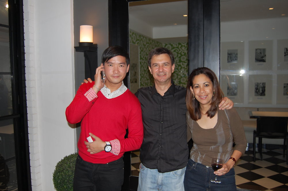 With television and radio personality Tim Yap