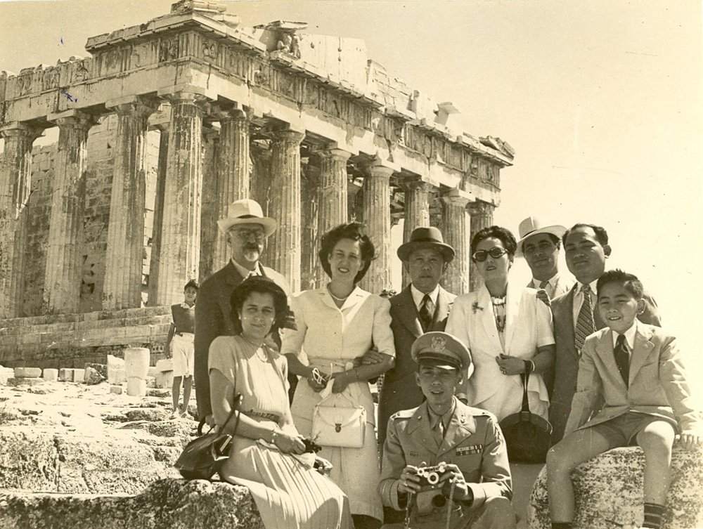 Romulos at the Parthenon