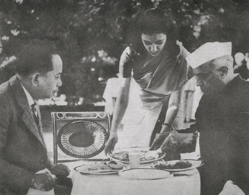 CPR with Jawaharlal Nehru and Mrs. Indira Gandhi