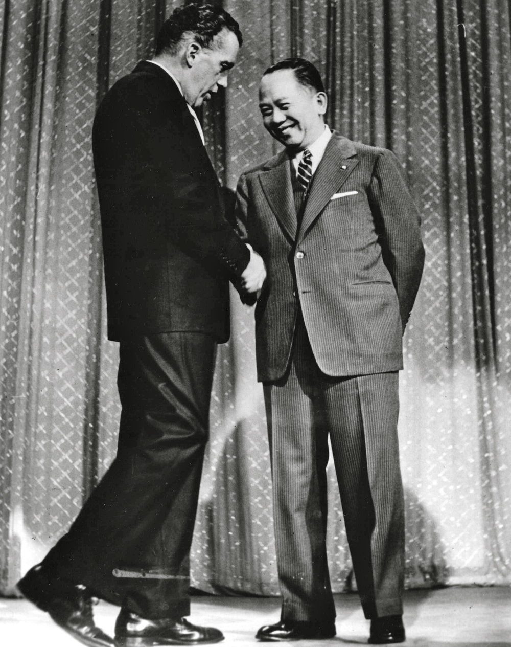 With Ed Sullivan