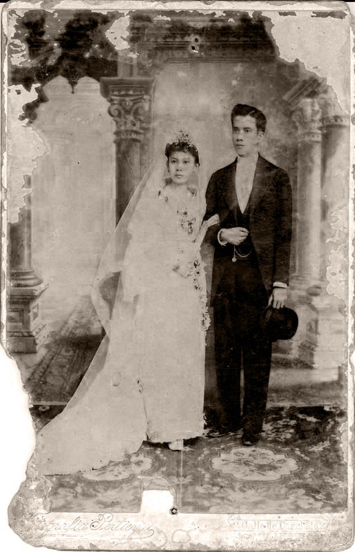 Wedding of Gregorio Romulo and Maria Peña