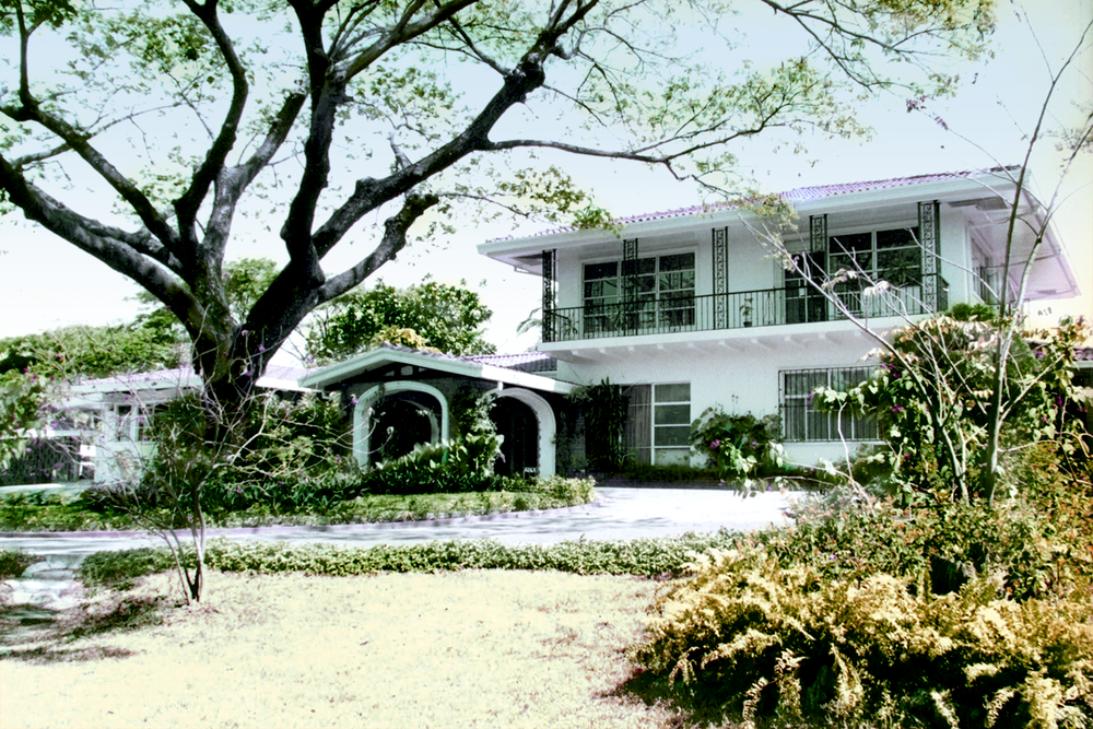 """Kasiyahan,"" 74 McKinley Road, Forbes Park, by Architect Carlos Arguelles."