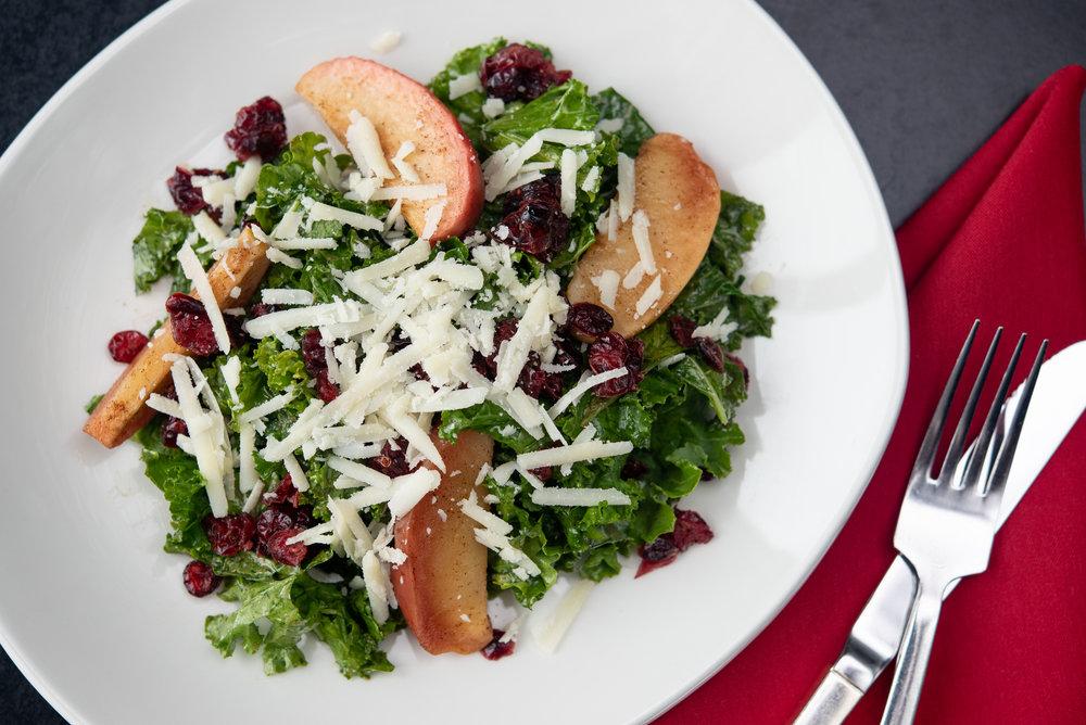 Fall Harvest - Kale, Agave Roasted Apples, Dried Cranberry, Pecorino, Balsamic Vinaigrette_9.20.18__Chip Klose1.jpg