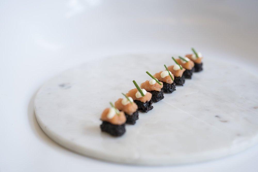 Smoked Salmon and Black Rice Pave _HDV_Fall 18 GP Tasting_BH_38.jpg