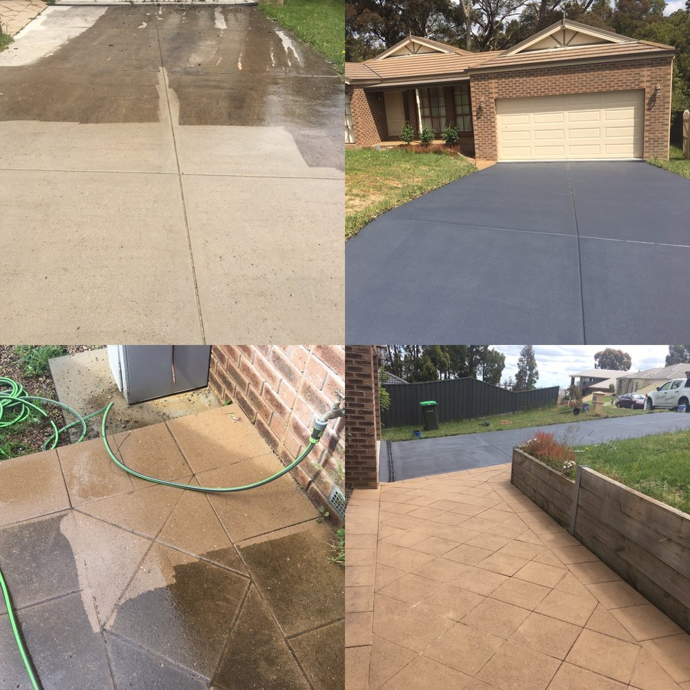 Water Blasting & Outdoor Coating