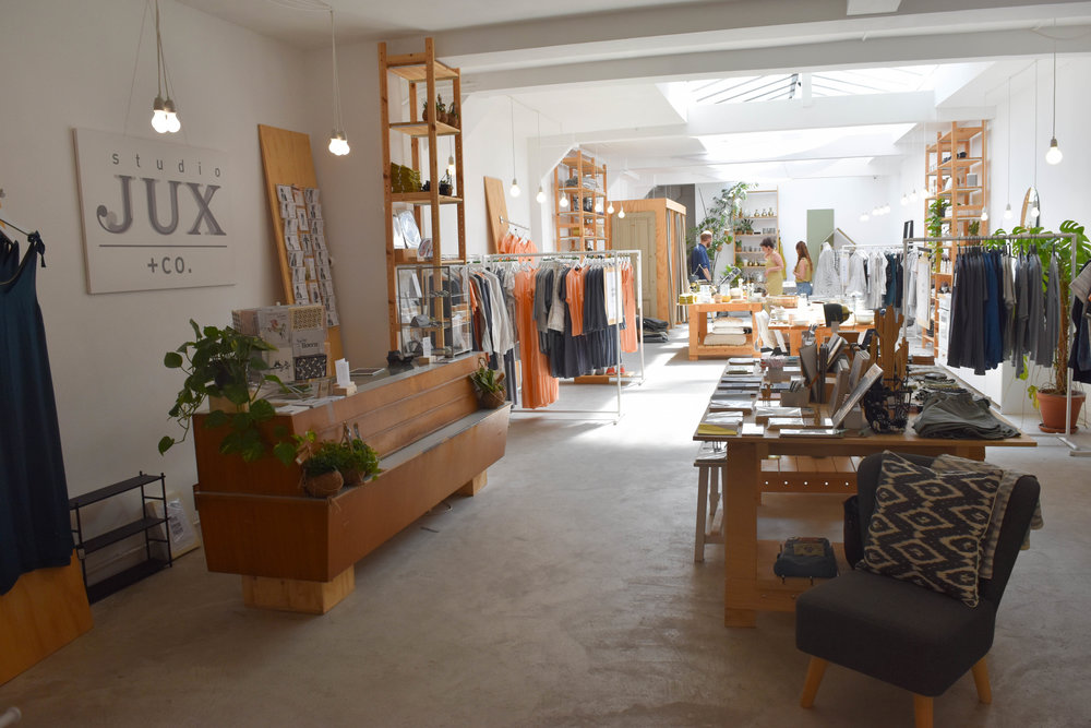 Studio JUX + co. flagship store