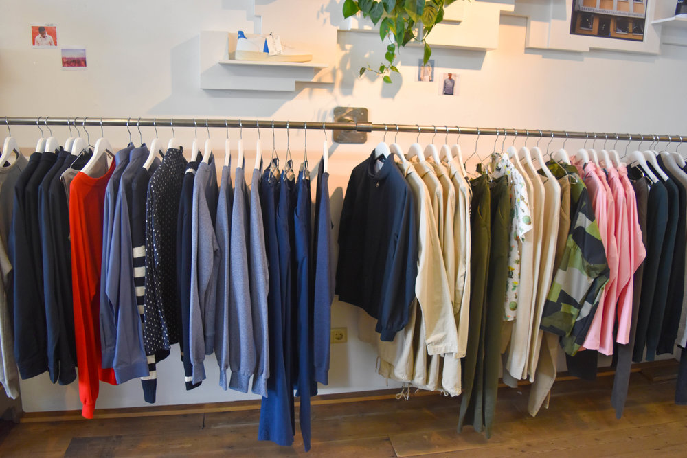 Check out  By Signe ,  Dedicated ,  People Tree ,  Swedish Stockings , and more across the racks.