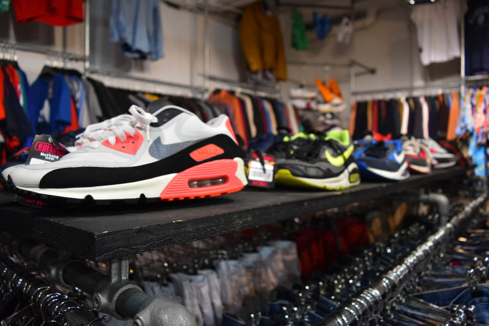 The place to go for vintage sneakers in all colors.