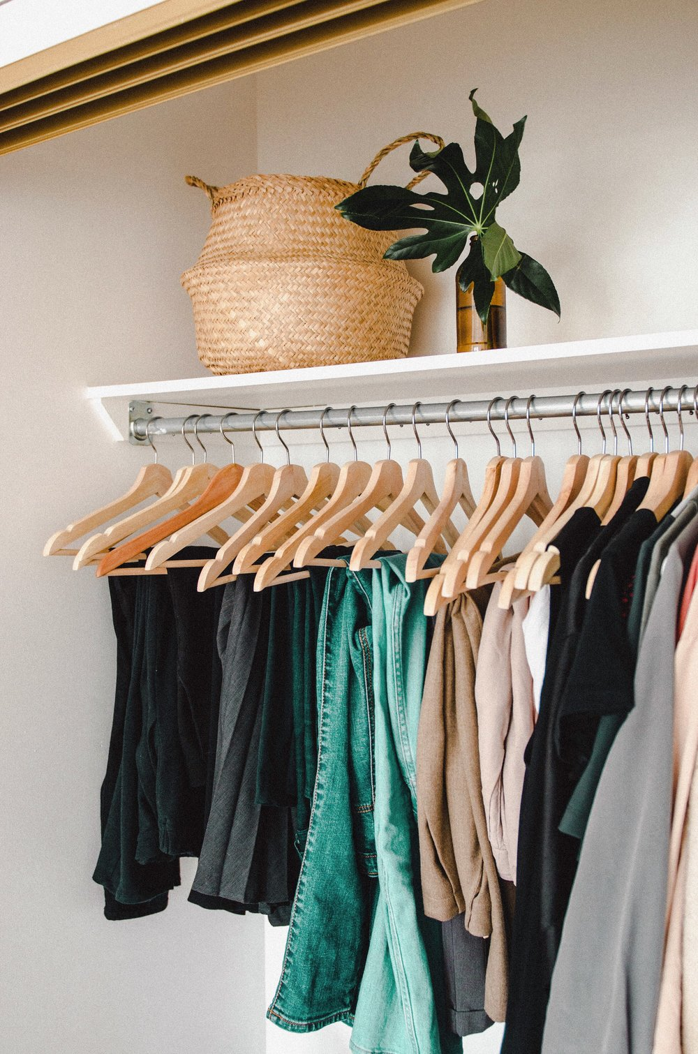 """""""Because life is more than clothes. Because I hope people know me, and remember me, for more than my clothes. Because I am dressed, so I can go focus on what matters. Because the secret to curating a perfect wardrobe is realizing that I already have one. """" Check out more of  Aléna's open letter to her closet ."""