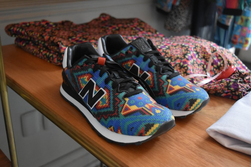 Ricardo Seco New Balances ($180.00) show all other New Balances they need to have a bit more fun.