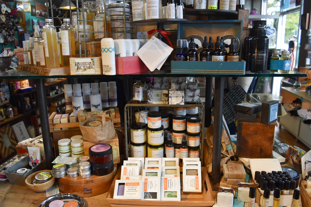 Locally-made gifts for your mom, sister, dad, friend who smells,.