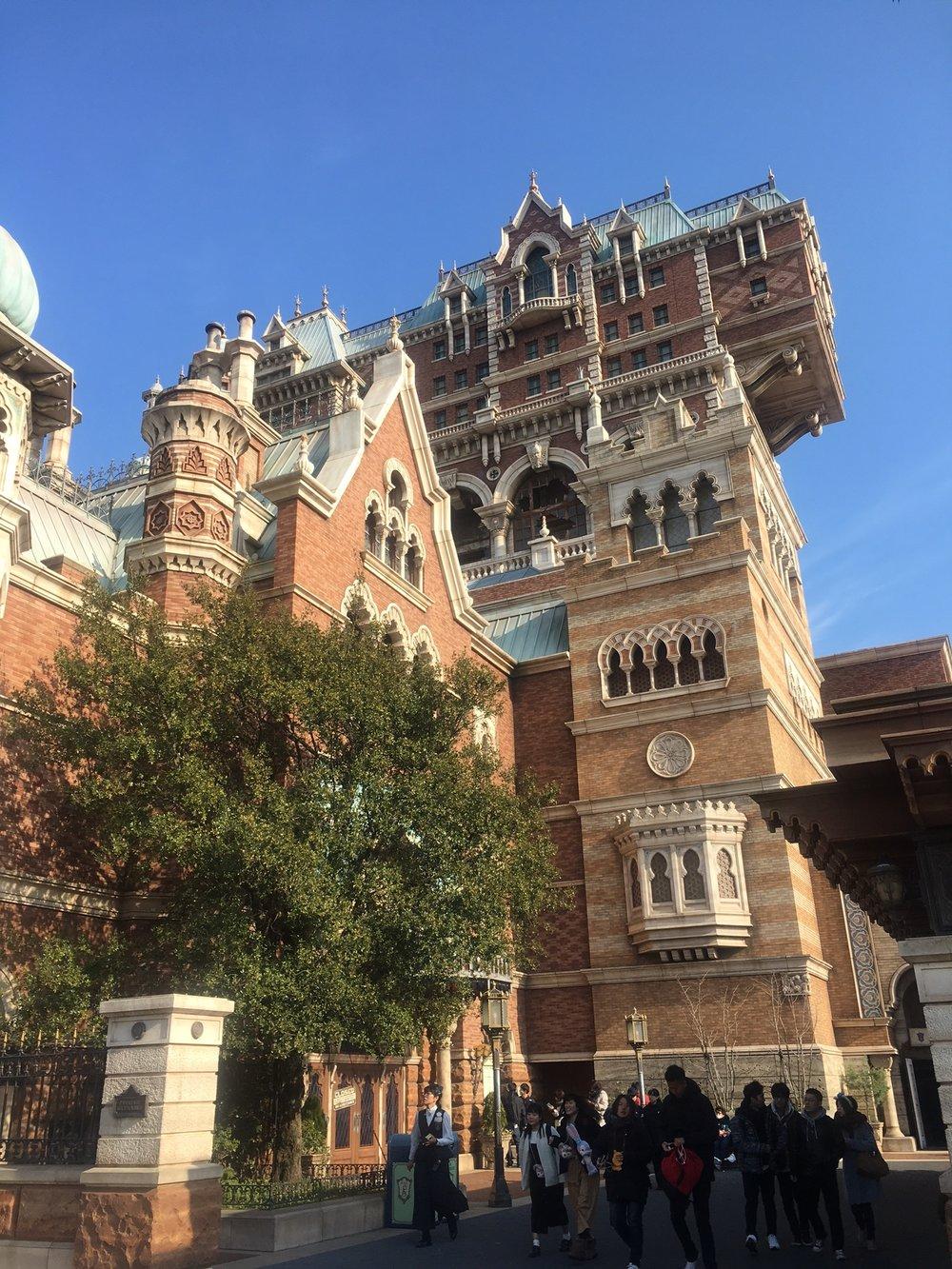 Schuyler Croy Tokyo Disney Sea Tower of Terror
