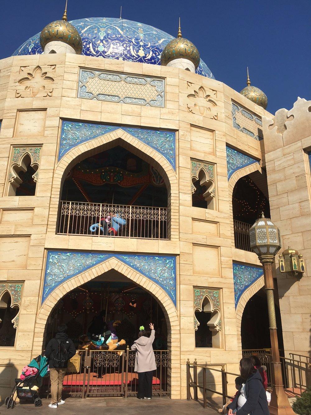 Carousel in the Arabian Port