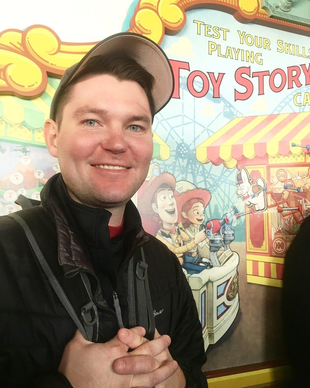 Schuyler Croy DisneySea Toy Story Mania