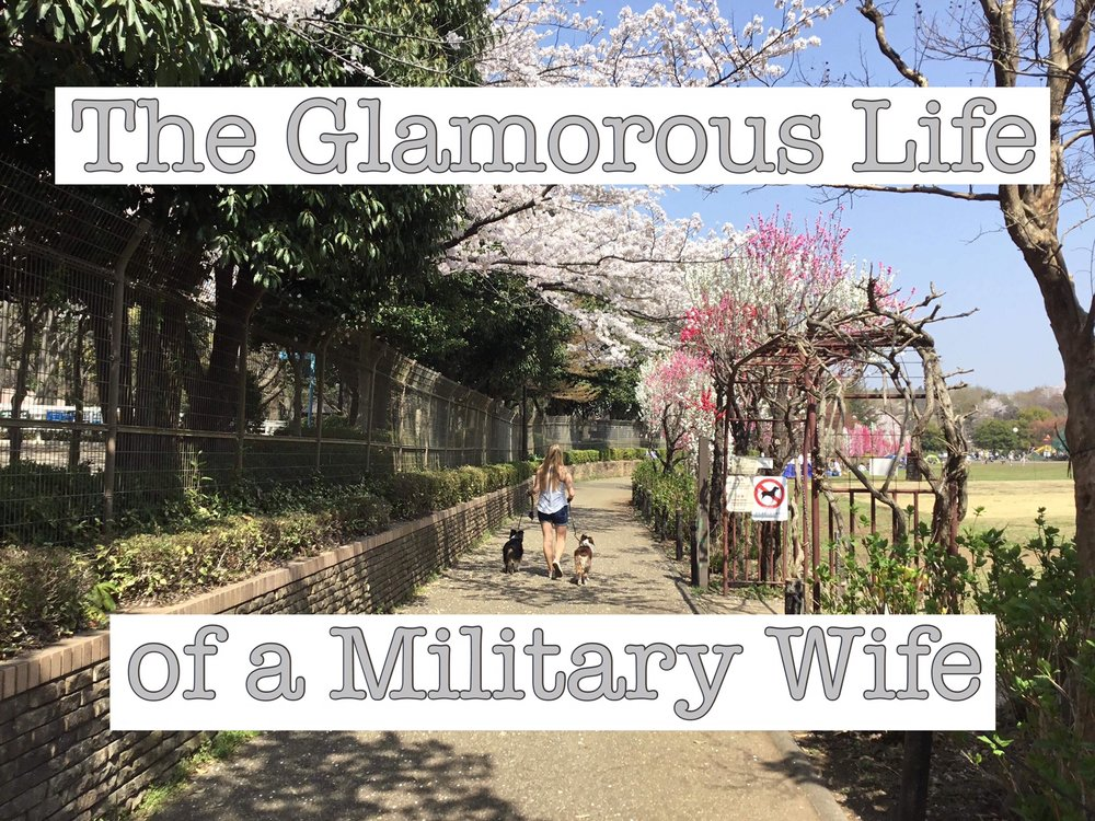 Being a Military Wife is HARD - Read my blog about the struggles I have faced as a military wife!
