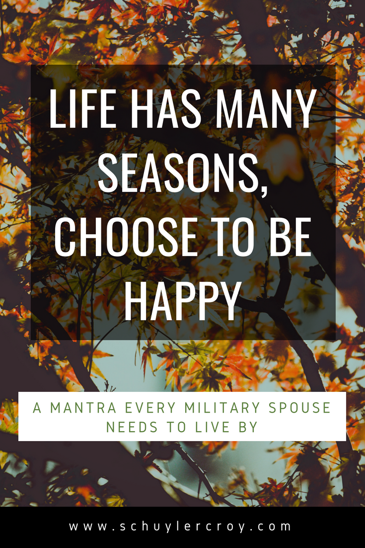 Choose to be happy - www.schuylercroy.com