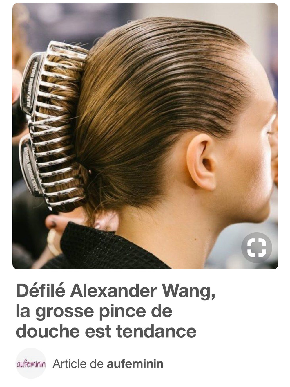 Photo Pinterest - Article de au féminin