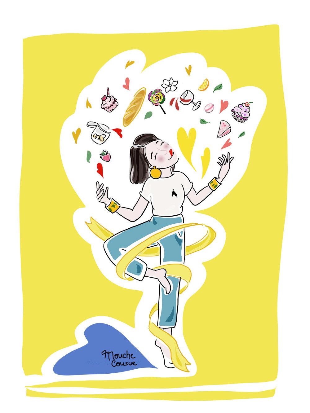 illustration mouche cousue - Beaupassage