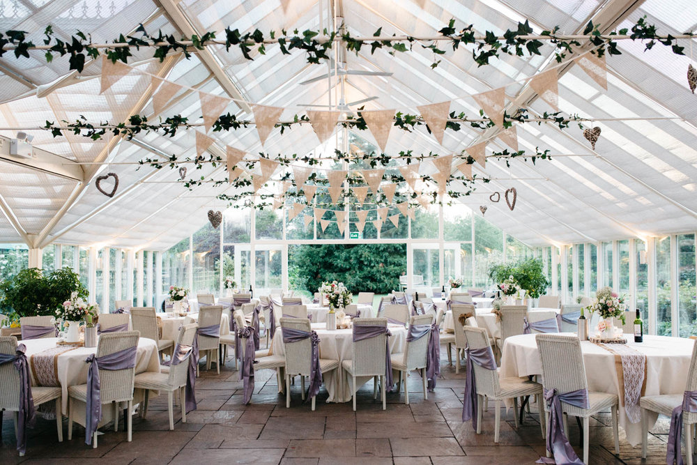 Abbeywood Estate Wedding - The Glasshouse