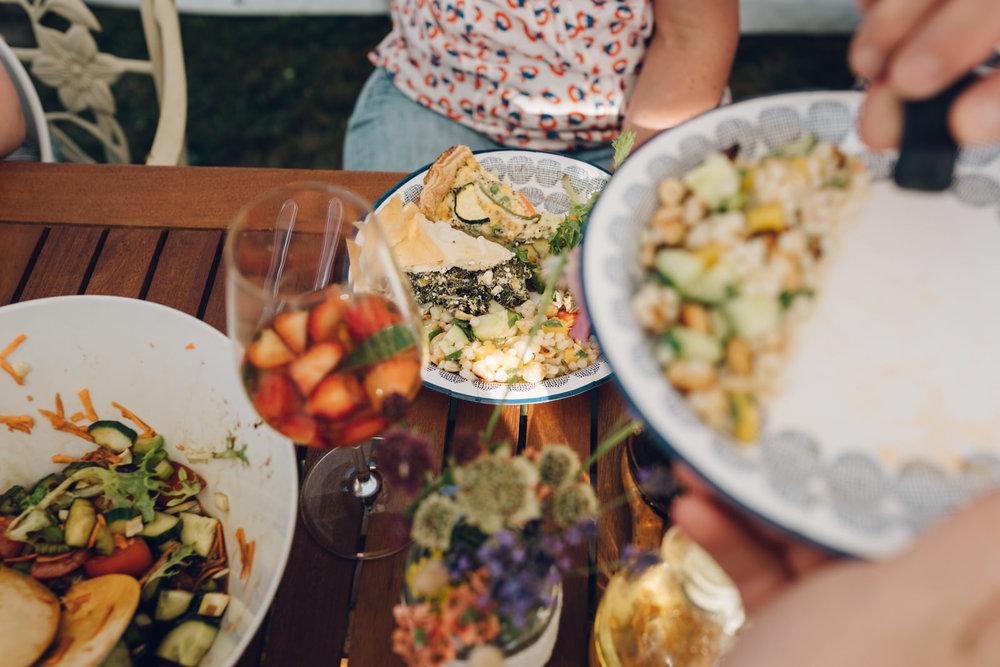 Spanikopita! Summer feast