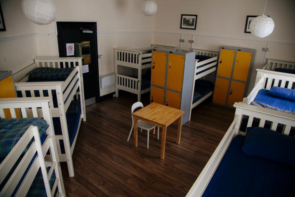 14 bed mixed dorm - 14 bed mixed dorm, shared bathroom.