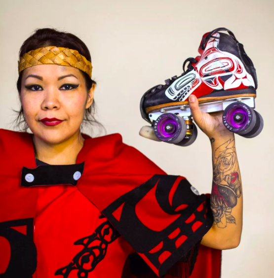 'Decolonize' roller derby? Team Indigenous takes up the challenge - The New York Times, March 2018